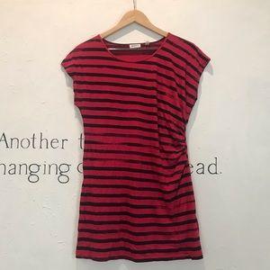 DKNYC red dress